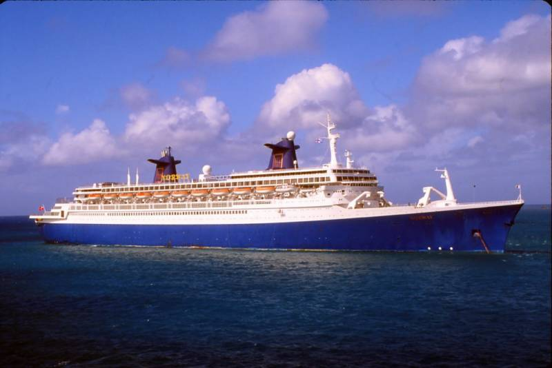 SS NORWAY - Cruise ship sound effects