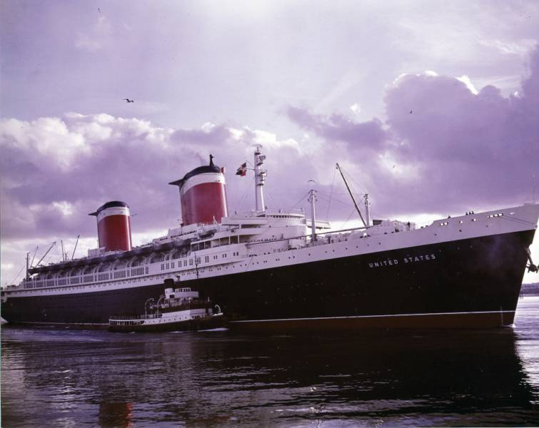 SS UNITED STATES - Uss america cruise ship