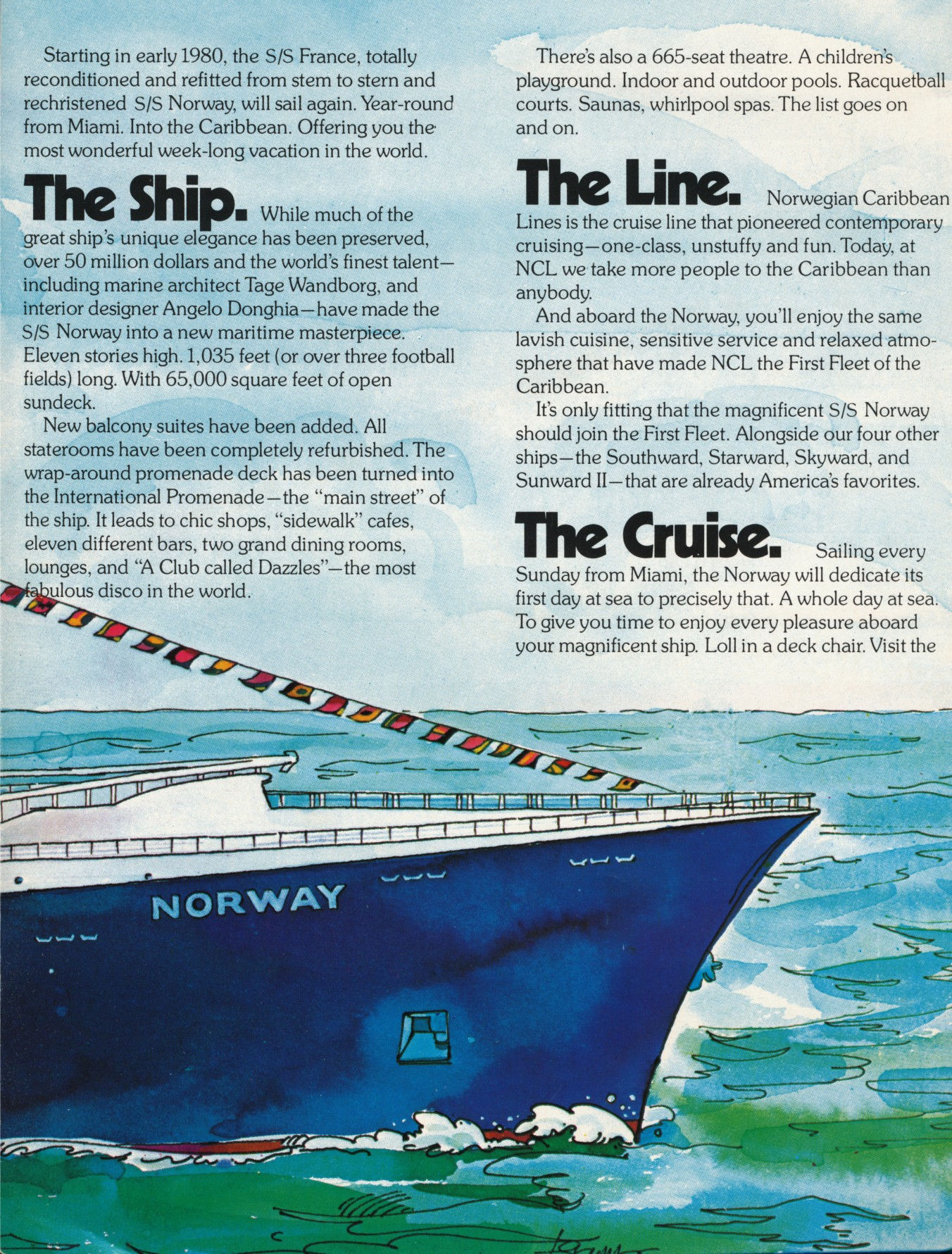 SS NORWAY - Starward cruise ship